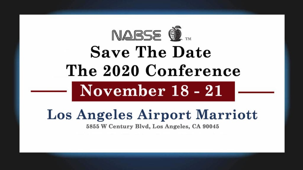 2020 NABSE Conference - Save The Date