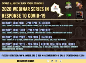 ONABSE Webinar Series In Response to Covid-19