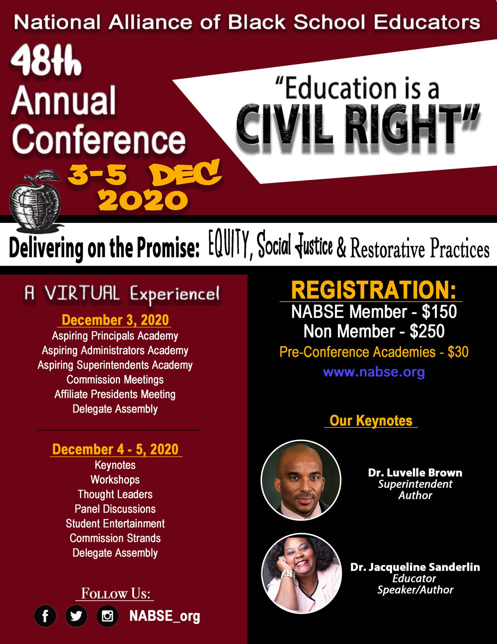 NABSE 48th Annual Conference @ Virtual