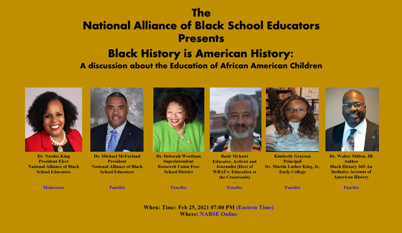 NABSE Presents Black History is American History @ NABSE Online