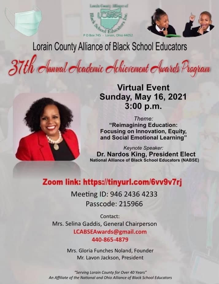 LCABSE - 37th Annual Academic Achievement Awards Program @ Virtual Event