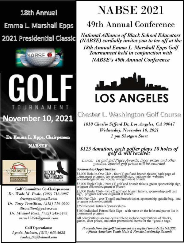 2021 NABSE Golf Tournament